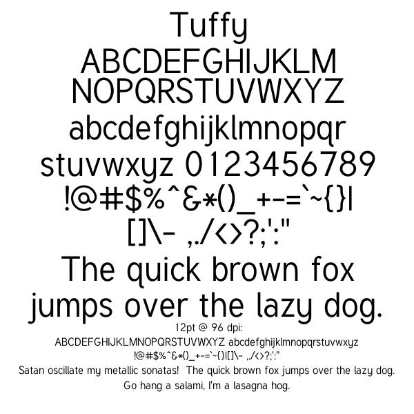 public domain fonts for mac